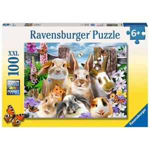 "Ravensburger (10949) - ""Rabbit Selfie"" - 100 piezas"