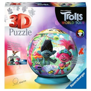 "Ravensburger (11169) - ""Trolls 2, World Tour"" - 72 piezas"
