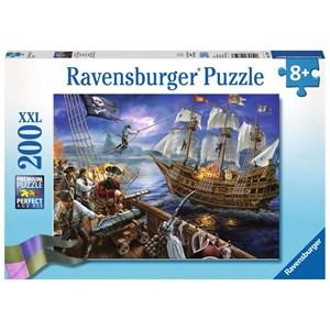 "Ravensburger (12759) - ""Blackbeard's Battle"" - 200 piezas"