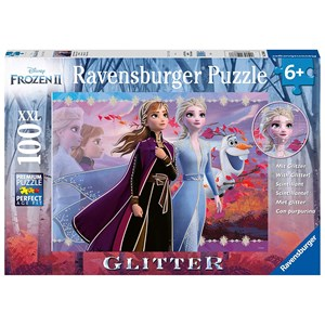 "Ravensburger (12868) - ""Disney Frozen 2, Strong Sisters"" - 100 piezas"