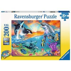 """Ravensburger (12900) - """"Ocean Dwellers"""" - 200 piezas"""