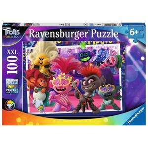 """Ravensburger (12912) - """"Trolls 2, World Tour"""" - 100 piezas"""