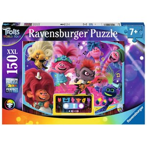 "Ravensburger (12913) - ""Trolls 2, World Tour"" - 150 piezas"