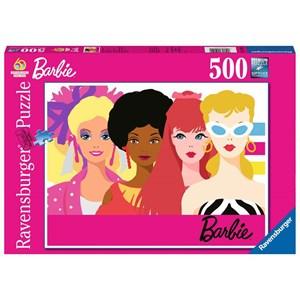 "Ravensburger (15019) - ""Barbie's 60th Anniversary"" - 500 piezas"