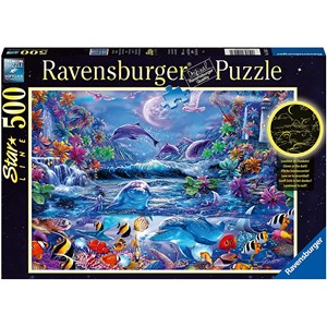 "Ravensburger (15047) - ""The Magic of the Moonlight"" - 500 piezas"
