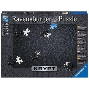 "Ravensburger (15260) - ""Krypt Black"" - 736 piezas"