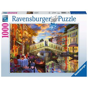 "Ravensburger (15286) - ""Sunset Over Rialto"" - 1000 piezas"