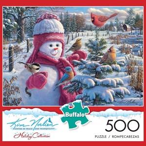 """Buffalo Games (3876) - Kim Norlien: """"Snowbaby Grace"""" - 500 piezas"""