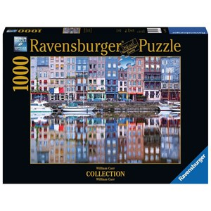 "Ravensburger (19867) - William Carr: ""Honefleur Reflection"" - 1000 piezas"