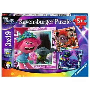 """Ravensburger (5081) - """"Trolls 2, World Tour"""" - 49 piezas"""
