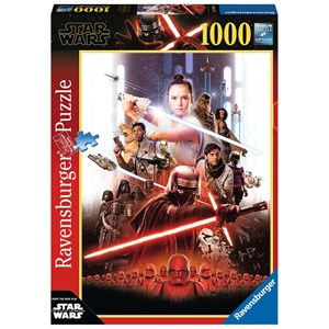 "Ravensburger (14990) - ""Star Wars IX, The Rise of Skywalker"" - 1000 piezas"