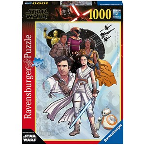 "Ravensburger (14991) - ""Star Wars IX, The Rise of Skywalker"" - 1000 piezas"