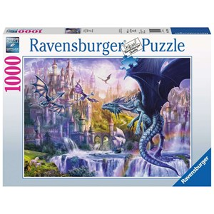 """Ravensburger (15252) - """"The Castle of the Dragons"""" - 1000 piezas"""