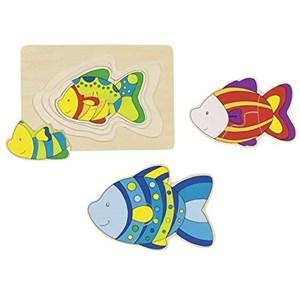 """Goki (57897) - """"Fish"""" - 11 piezas"""