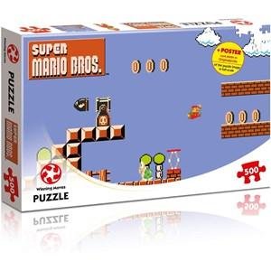 "Winning Moves Games (WIN11484) - ""Super Mario Bros., High Jumper"" - 500 piezas"