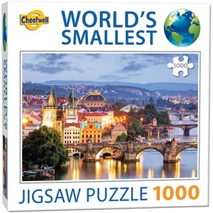 "Cheatwell Games (13992) - ""Prague Bridges"" - 1000 piezas"