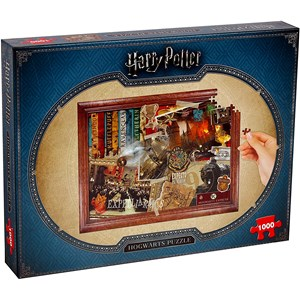 "Winning Moves Games (2466) - ""Harry Potter, Hogwarts"" - 1000 piezas"