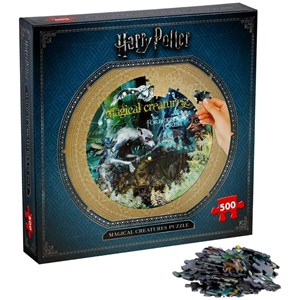 "Winning Moves Games (2473) - ""Harry Potter, Magical Creatures"" - 500 piezas"