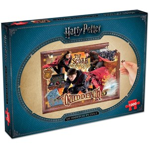 "Winning Moves Games (2497) - ""Harry Potter, Quidditch"" - 1000 piezas"