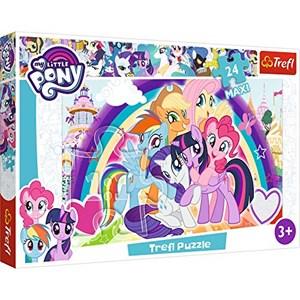 "Trefl (14269) - ""Happy Ponies"" - 24 piezas"