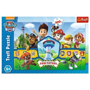 """Trefl (16351) - """"Heroes Team"""" - 100 piezas"""