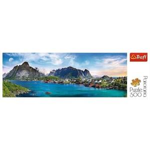 "Trefl (29500) - ""Lofoten Archipelago, Norway"" - 500 piezas"