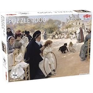 """Tactic (55248) - """"Luxembourg Gardens"""" - 1000 piezas"""