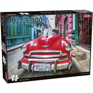 "Tactic (55255) - ""Vintage car in Havana"" - 500 piezas"