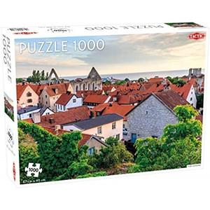 """Tactic (56679) - """"Visby, Gotland"""" - 1000 piezas"""