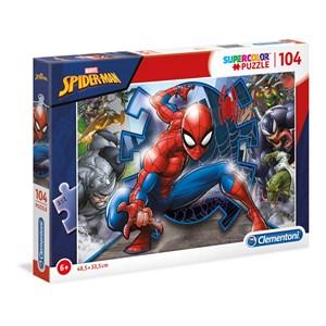 "Clementoni (27116) - ""Spider Man"" - 104 piezas"