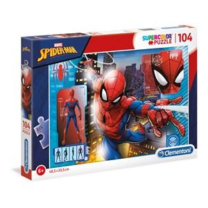 "Clementoni (27118) - ""Puzzle-Spider Man"" - 104 piezas"
