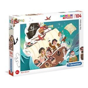"Clementoni (27278) - ""The Pirates"" - 104 piezas"