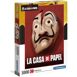 """Clementoni (39533) - Salvador Dali: """"La Casa De Papel"""" - 1000 piezas"""
