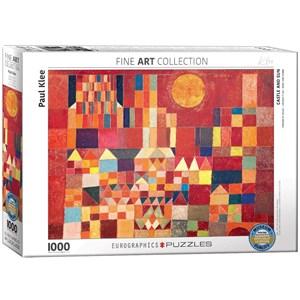 """Eurographics (6000-0836) - Paul Klee: """"Castle and Sun"""" - 1000 piezas"""