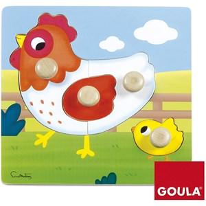 "Goula (53052) - ""Chicken"" - 4 piezas"
