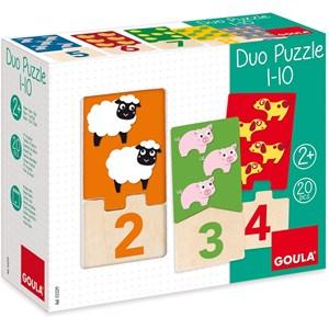"Jumbo (D53329) - ""Numbers 1-10"" - 20 piezas"