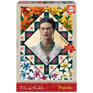 """Educa (18483) - Frida Kahlo: """"Frida Kahlo"""" - 500 piezas"""