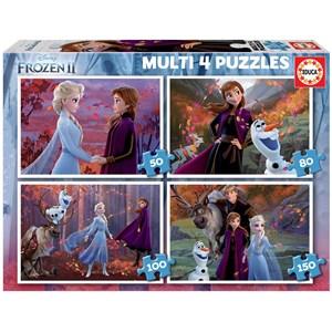 "Educa (18640) - ""Frozen 2"" - 50 80 100 150 piezas"