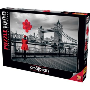 "Anatolian (1040) - Assaf Frank: ""Tower Bridge, London"" - 1000 piezas"