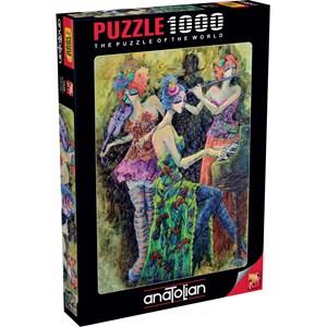 "Anatolian (1046) - Derya Yildiz: ""Colour Trio"" - 1000 piezas"