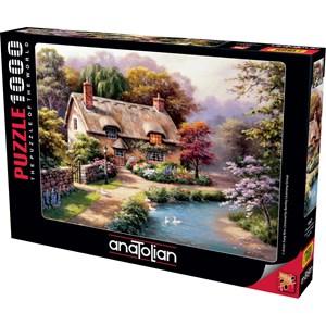 "Anatolian (1047) - Sung Kim: ""Duck Path Cottage"" - 1000 piezas"