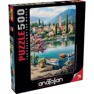 "Anatolian (3597) - Sung Kim: ""Village Lake Afternoon"" - 500 piezas"