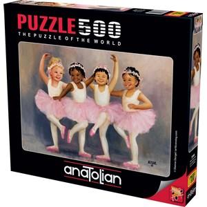 "Anatolian (3598) - Diane Dengel: ""Little Ballerinas"" - 500 piezas"