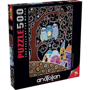 "Anatolian (3605) - Karla Gerard: ""Three Owls"" - 500 piezas"