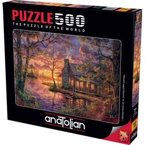 "Anatolian (3608) - Abraham Hunter: ""Hiding Place"" - 500 piezas"