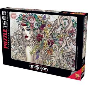 """Anatolian (4549) - Gracjana Zielinska: """"Flower"""" - 1500 piezas"""