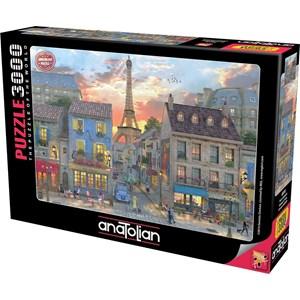 "Anatolian (4910) - Dominic Davison: ""Streets of Paris"" - 3000 piezas"
