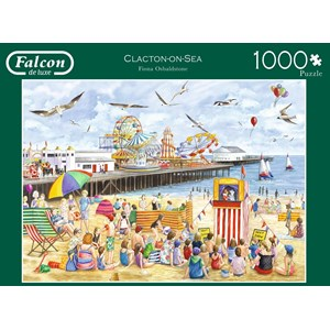 "Falcon (11204) - Fiona Osbaldstone: ""Clacton-on-Sea"" - 1000 piezas"