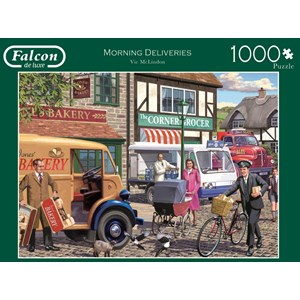 "Falcon (11217) - Victor McLindon: ""Morning Deliveries"" - 1000 piezas"