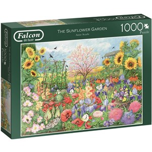 "Falcon (11224) - Anne Searle: ""The Sunflower Garden"" - 1000 piezas"